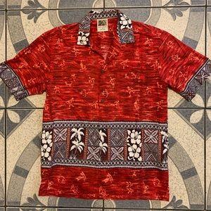 Vintage Winnie Fashion Hawaiian Shirt Sz L
